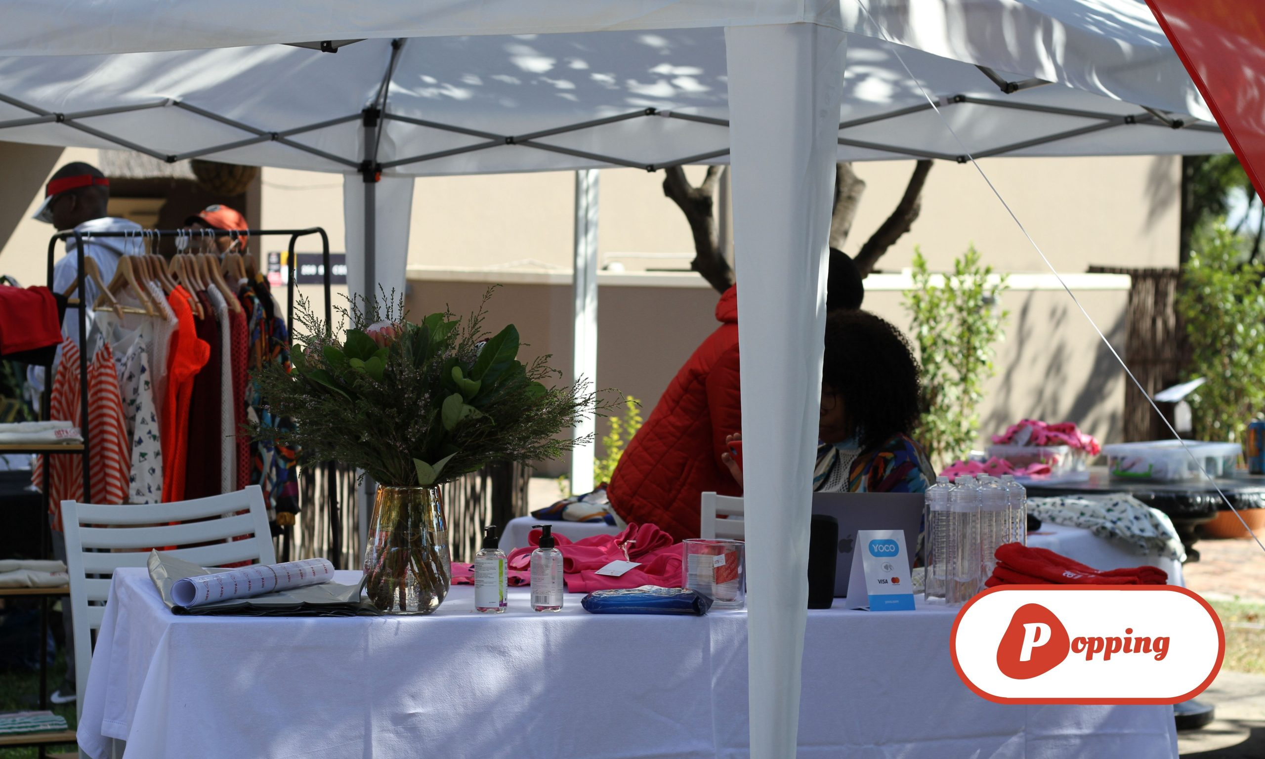 Athi Fitness pop-up